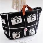 Melanie weekend tote bag - Let&#039;s enjoy clicking away